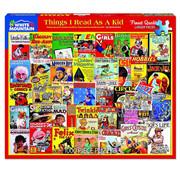 White Mountain White Mountain Things I Read as a Kid Puzzle 1000pcs