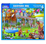 White Mountain White Mountain Backyard BBQ Puzzle 1000pcs