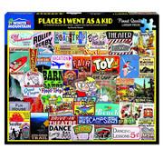 White Mountain White Mountain Places I Went as a Kid Puzzle 1000pcs