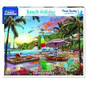 White Mountain White Mountain Beach Holiday Puzzle 550pcs