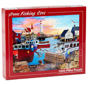Vermont Christmas Company Vermont Christmas Co. Fishing Cove Puzzle 1000pcs