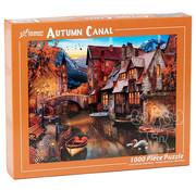 Vermont Christmas Company Vermont Christmas Co. Autumn Canal Puzzle 1000pcs