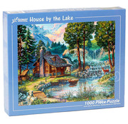 Vermont Christmas Company Vermont Christmas Co. House By the Lake Puzzle 1000pcs