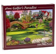 Vermont Christmas Company Vermont Christmas Co. Golfer's Paradise Puzzle 1000pcs