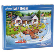 Vermont Christmas Company Vermont Christmas Co. Lake House Puzzle 1000pcs