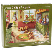 Vermont Christmas Company Vermont Christmas Co. Golden Puppies Puzzle 1000pcs