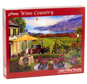 Vermont Christmas Company Vermont Christmas Co. Wine Country Puzzle 1000pcs