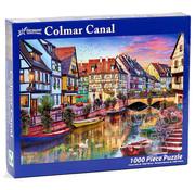 Vermont Christmas Company Vermont Christmas Co. Colmar Canal Puzzle 1000pcs