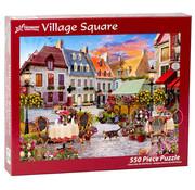 Vermont Christmas Company Vermont Christmas Co. Village Square Puzzle 550pcs