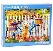 Vermont Christmas Company Vermont Christmas Co. Pedal Pups Puzzle 1000pcs