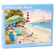 Vermont Christmas Company Vermont Christmas Co. Seaside Beach Puzzle 1000pcs
