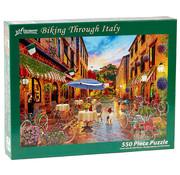 Vermont Christmas Company Vermont Christmas Co. Biking Through Italy Puzzle 550pcs