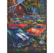 Vermont Christmas Company Vermont Christmas Co. Room For One More? Puzzle 550pcs