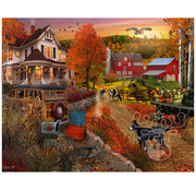 Vermont Christmas Company Vermont Christmas Co. Country Inn & Farm Puzzle 1000pcs