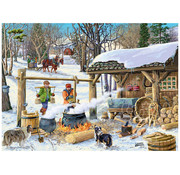 Vermont Christmas Company Vermont Christmas Co. Maple Syrup Time Puzzle 1000pcs