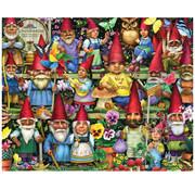 Vermont Christmas Company Vermont Christmas Co. Gnomes Galore Puzzle 1000pcs