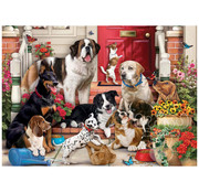 Vermont Christmas Company Vermont Christmas Co. A Dog's Life Puzzle 1000pcs