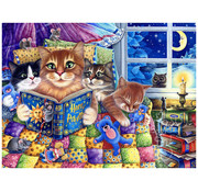 Vermont Christmas Company Vermont Christmas Co. Kittens' Bedtime Puzzle 550pcs