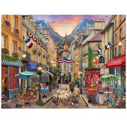 Vermont Christmas Company Vermont Christmas Co. French Village Puzzle 550pcs