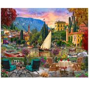 Vermont Christmas Company Vermont Christmas Co. Al Fresco Italy Puzzle 1000pcs