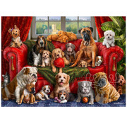 Vermont Christmas Company Vermont Christmas Co. Love My Dogs Puzzle 1000pcs