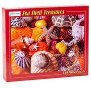 Vermont Christmas Company Vermont Christmas Co. Sea Shell Treasures Puzzle 550pcs