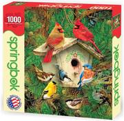 Springbok Springbok Feathered Retreat Puzzle 1000pcs