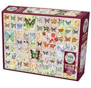 Cobble Hill Puzzles Cobble Hill Butterflies and Blossoms Puzzle 2000pcs