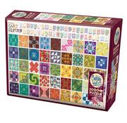 Cobble Hill Puzzles Cobble Hill Quilt Blocks Puzzle 2000pcs