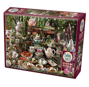 Cobble Hill Puzzles Cobble Hill Mad Hatter's Tea Party Puzzle 2000pcs