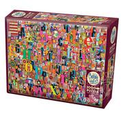 Cobble Hill Puzzles Cobble Hill Shelley's ABC Puzzle 2000pcs