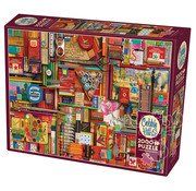 Cobble Hill Puzzles Cobble Hill Vintage Art Supplies Puzzle 2000pcs
