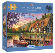 Gibsons Gibsons Waiting for Supper Puzzle 500pcs
