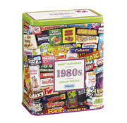 Gibsons Gibsons 1980S Sweet Memories Puzzle 500pcs Gift Tin