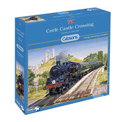 Gibsons Gibsons Corfe Castle Puzzle 500pcs
