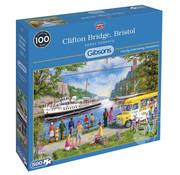 Gibsons Gibsons Clifton Bridge, Bristol Puzzle 500pcs