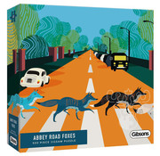 Gibsons Gibsons Abbey Road Foxes Puzzle 500pcs