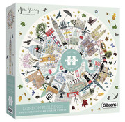 Gibsons Gibsons London Buildings Circular Puzzle 500pcs