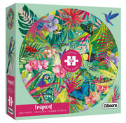 Gibsons Gibsons Tropical Circular Puzzle 500pcs