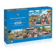 Gibsons Gibsons The Country Bus Puzzle 4 x 500pcs