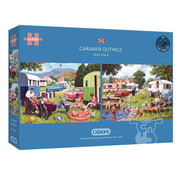 Gibsons Gibsons Caravan Outings Puzzle 2 x 500pcs