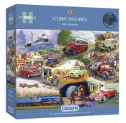 Gibsons Gibsons Iconic Engines Puzzle 1000pcs