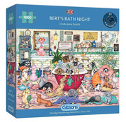 Gibsons Gibsons Bert's Bath Night Puzzle 1000pcs