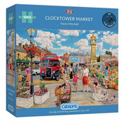 Gibsons Gibsons Clocktower Market Puzzle 1000pcs