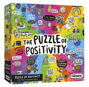 Gibsons Gibbons The Puzzle of Positivity Puzzle 1000pcs