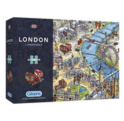 Gibsons Gibsons London Landmark Puzzle 1000pcs