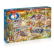 Gibsons Gibsons I Love Autumn Puzzle 1000pcs