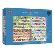 Gibsons Gibsons Woodland Seasons Puzzle 2000pcs