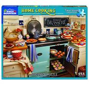 White Mountain White Mountain Home Cooking Puzzle 1000pcs