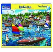 White Mountain White Mountain Harbor Fun Puzzle 1000pcs